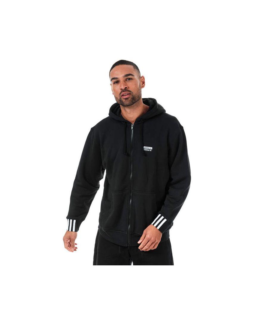 Image for Men's adidas Originals R.Y.V. Zip Hoody in Black