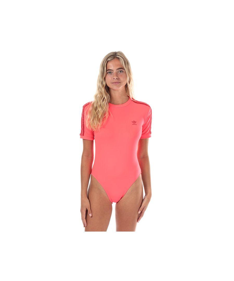 Image for Women's adidas Originals Bodysuit in Coral