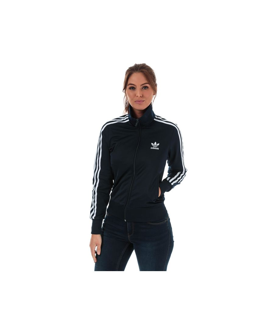 Image for Women's adidas Originals Firebird Track Top in Navy