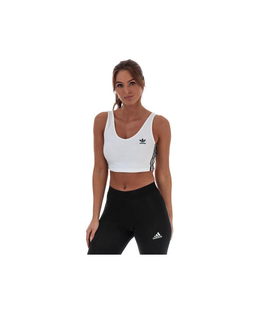 Image for Women's adidas Originals Bra Top in White