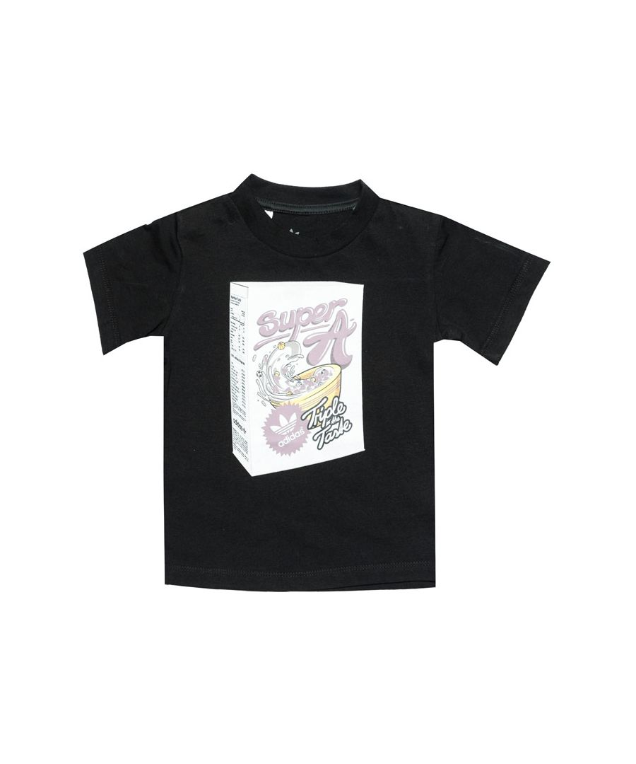 Image for Boy's adidas Originals Baby Graphic T-Shirt in Black