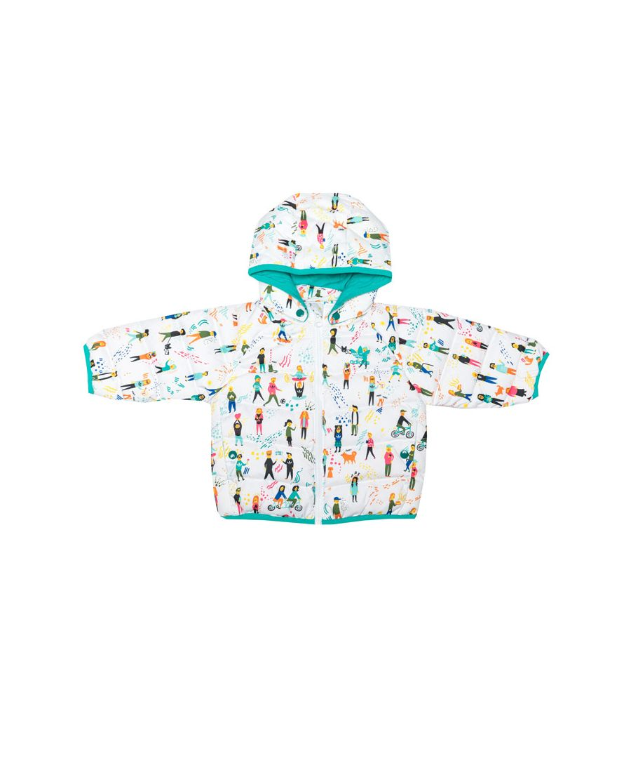 Image for Girl's adidas Originals Baby Jacket in White