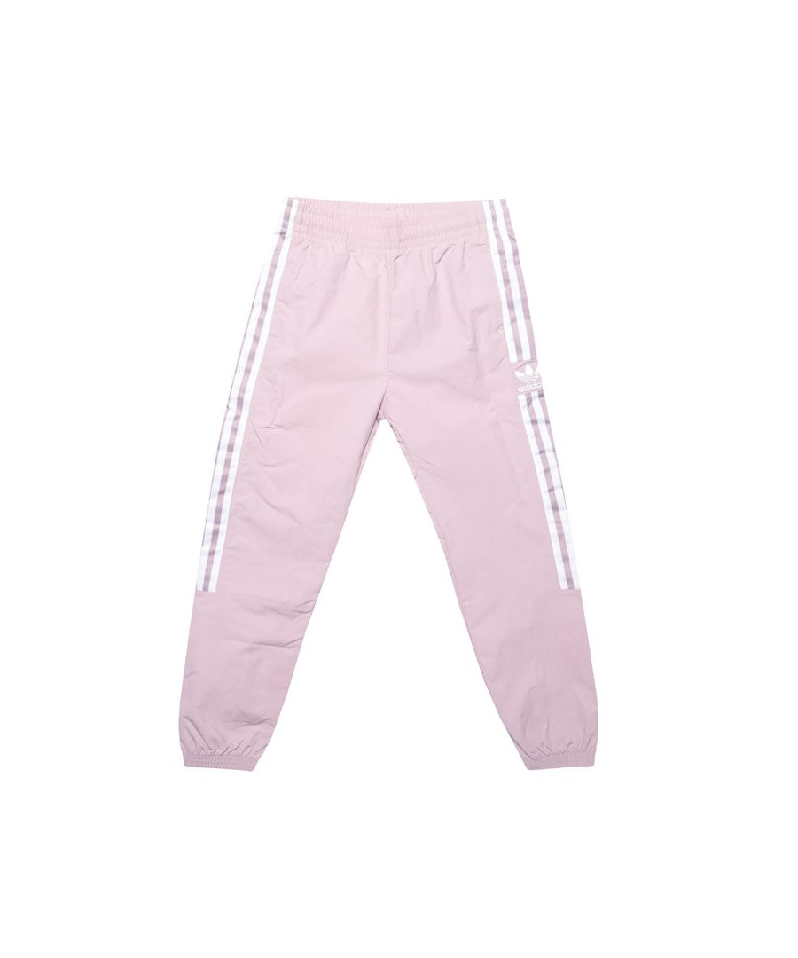 Image for Girl's adidas Originals Junior New Icon Track Pants in Rose