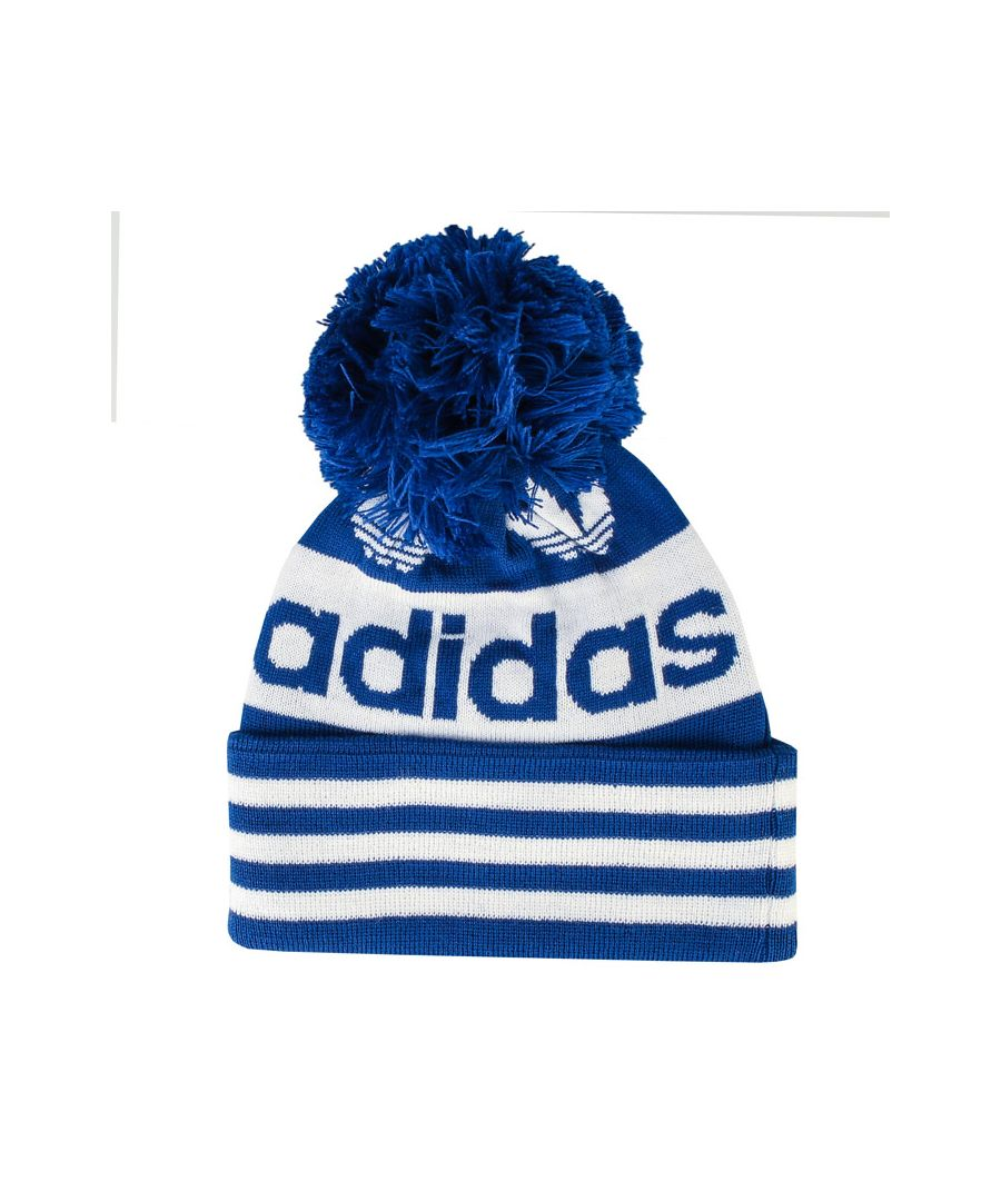 Image for Accessories adidas Originals Adicolor Pompom Beanie in Royal Blue
