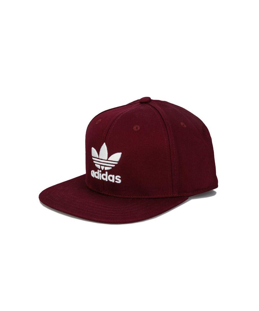 Image for Accessories adidas Originals Trefoil Snapback Cap in Burgundy