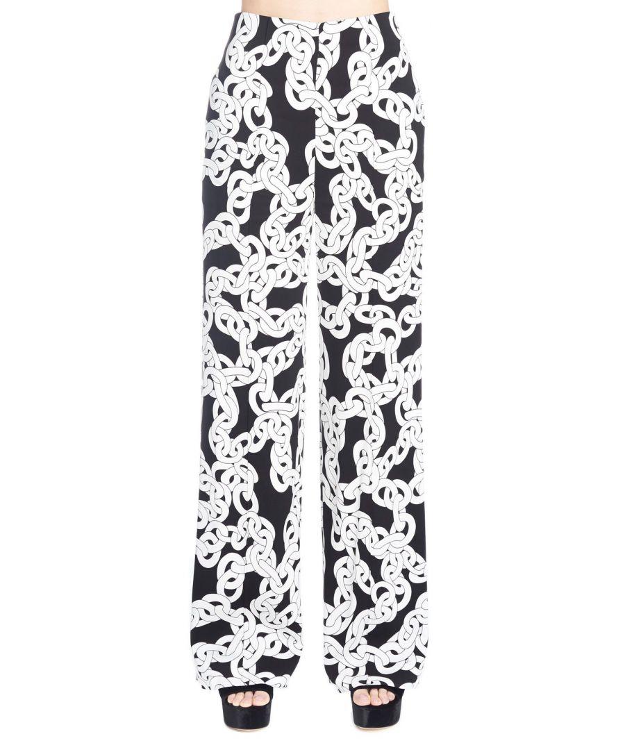 Image for DIANE VON FURSTENBERG WOMEN'S 12501DVFCRCHB WHITE VISCOSE PANTS