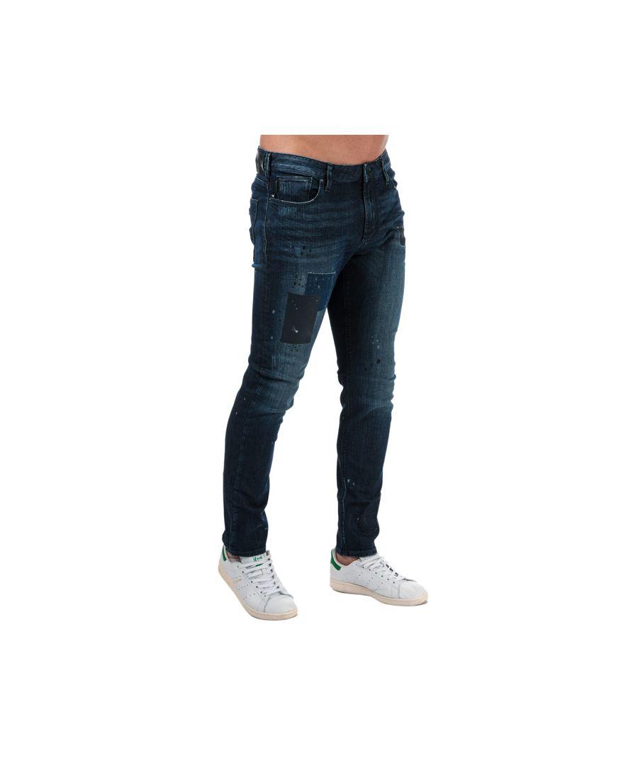 Image for Men's Armani J06 Slim Fit Jeans in Denim