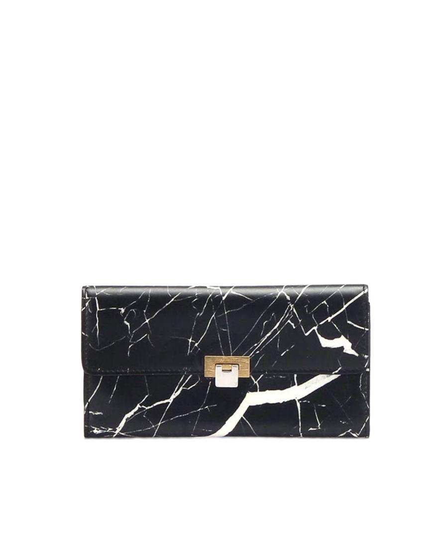 Image for Vintage Balenciaga Leather Long Wallet Black