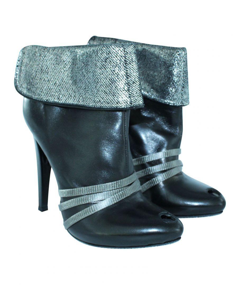 Image for Diesel Diesel Rockpool Black Heel Boots