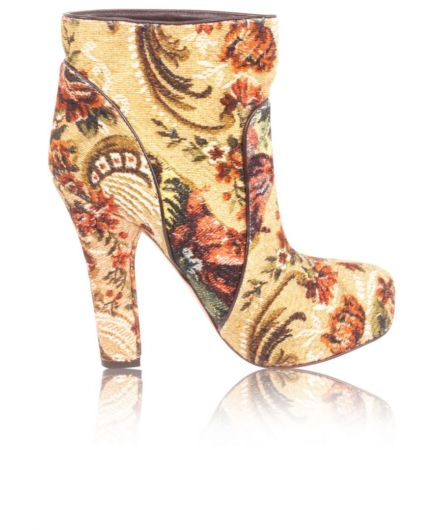 Image for Dolce & Gabbana Floral Print Boots