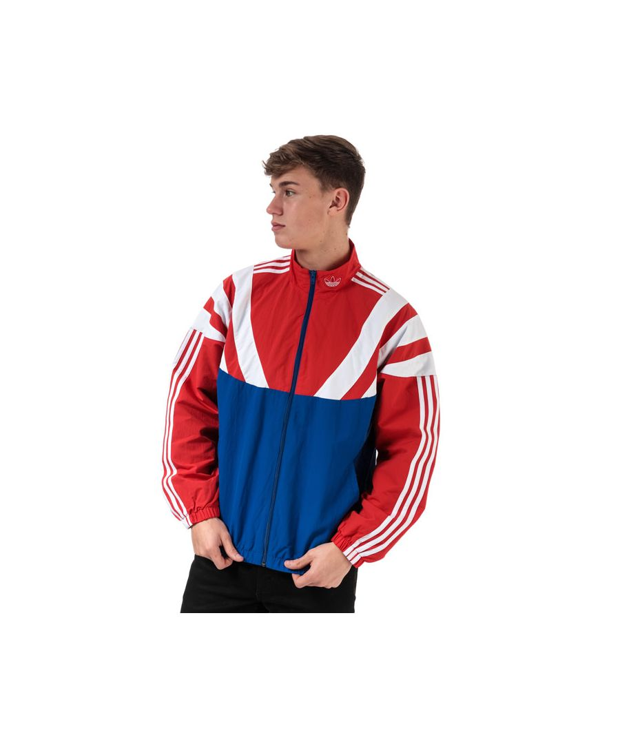 Image for Men's adidas Originals Balanta 96 Track Top in Royal Blue