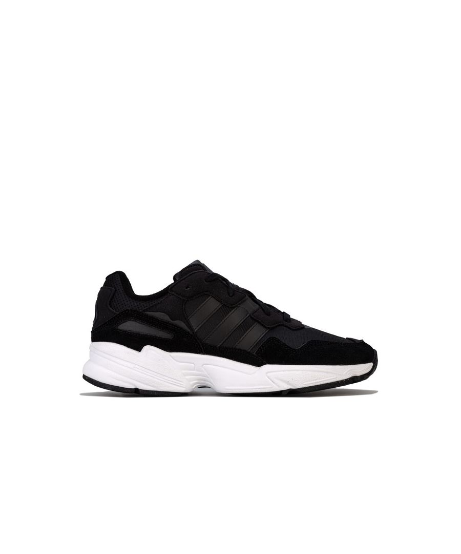 Image for Men's adidas Originals Yung-96 Trainers in Black