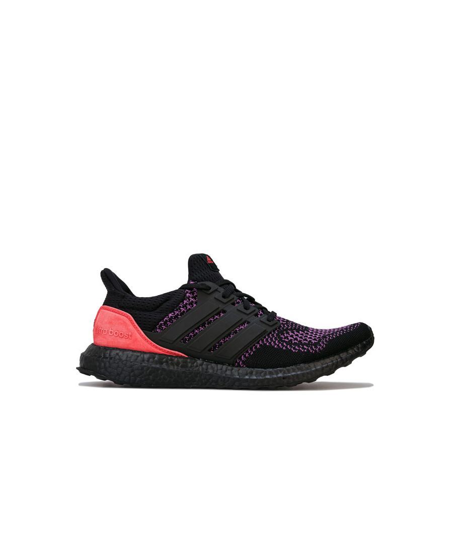 Image for Men's adidas Ultraboost Running Shoes in Black purple