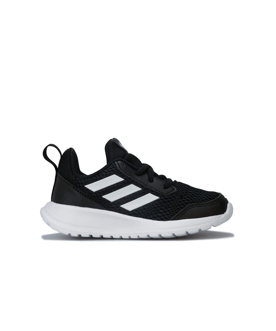 Image for Boy's adidas Junior AltaRun Trainers in Black