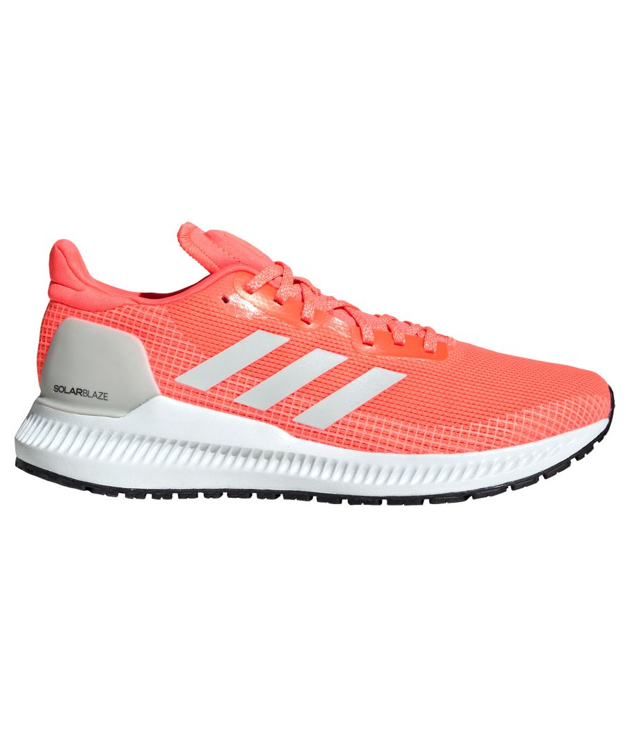 Image for adidas Solar Blaze Womens Running Trainer Coral