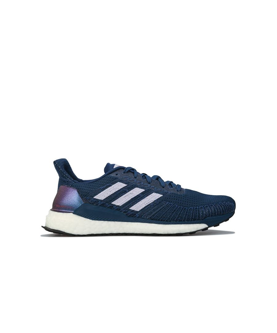 Image for Women's adidas Solarboost 19 Running Shoes in Indigo