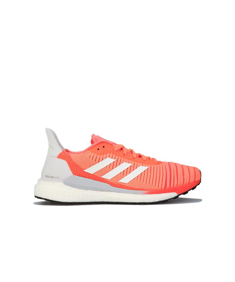 Image for Women's adidas Solar Glide 19 Running Shoes in Coral