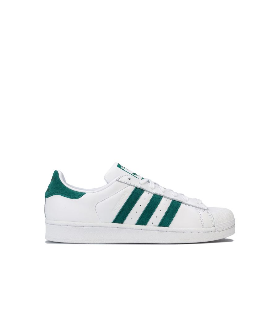 Image for Men's adidas Originals Superstar Trainers in White