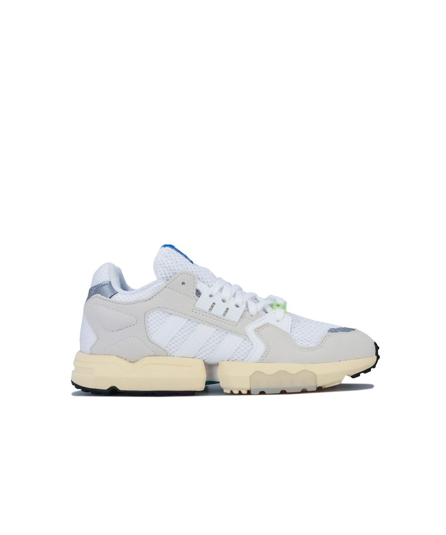 Image for Men's adidas Originals ZX Torsion Trainers in White