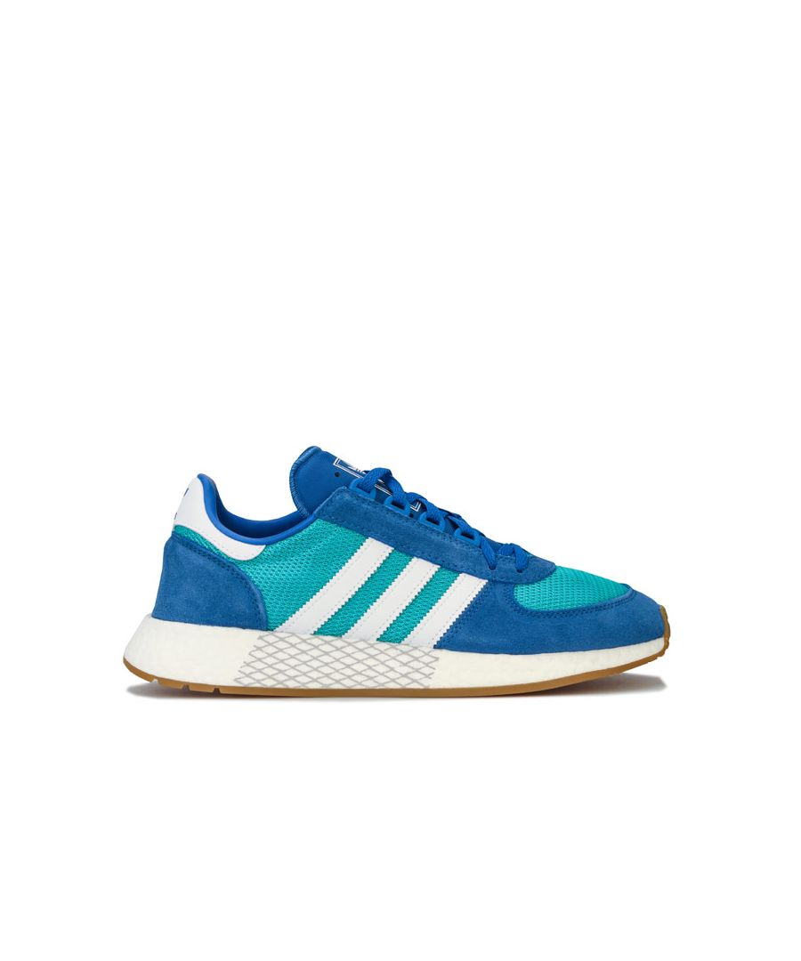 Image for Men's adidas Originals Marathon Tech Trainers in Blue