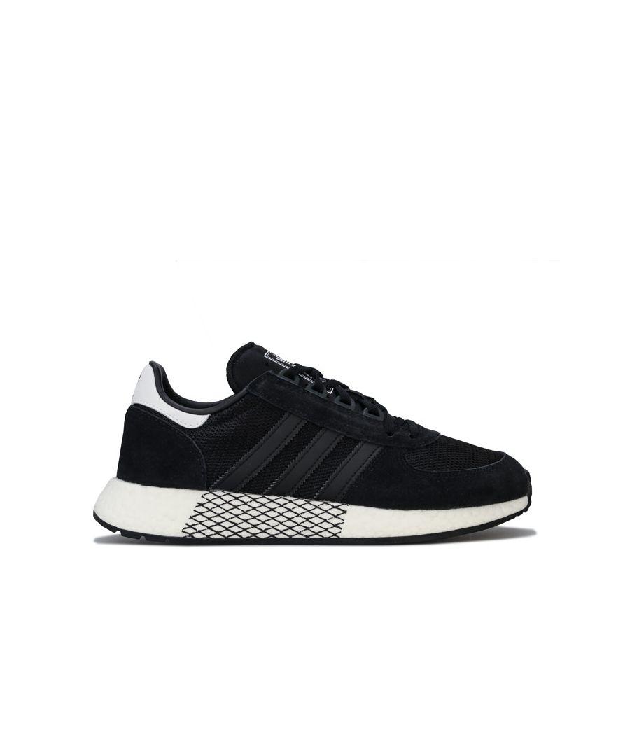 Image for Men's adidas Originals Marathon Tech Trainers in Black