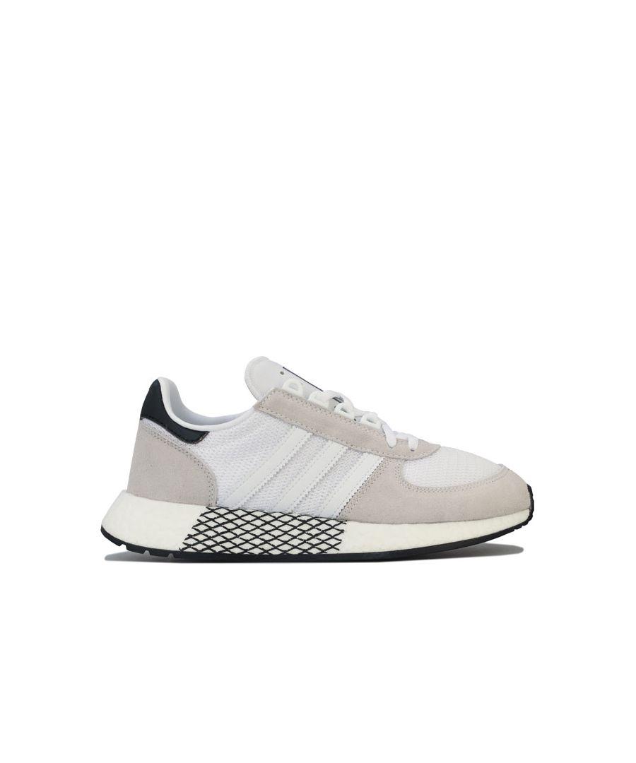 Image for Men's adidas Originals Marathon Tech Trainers in White