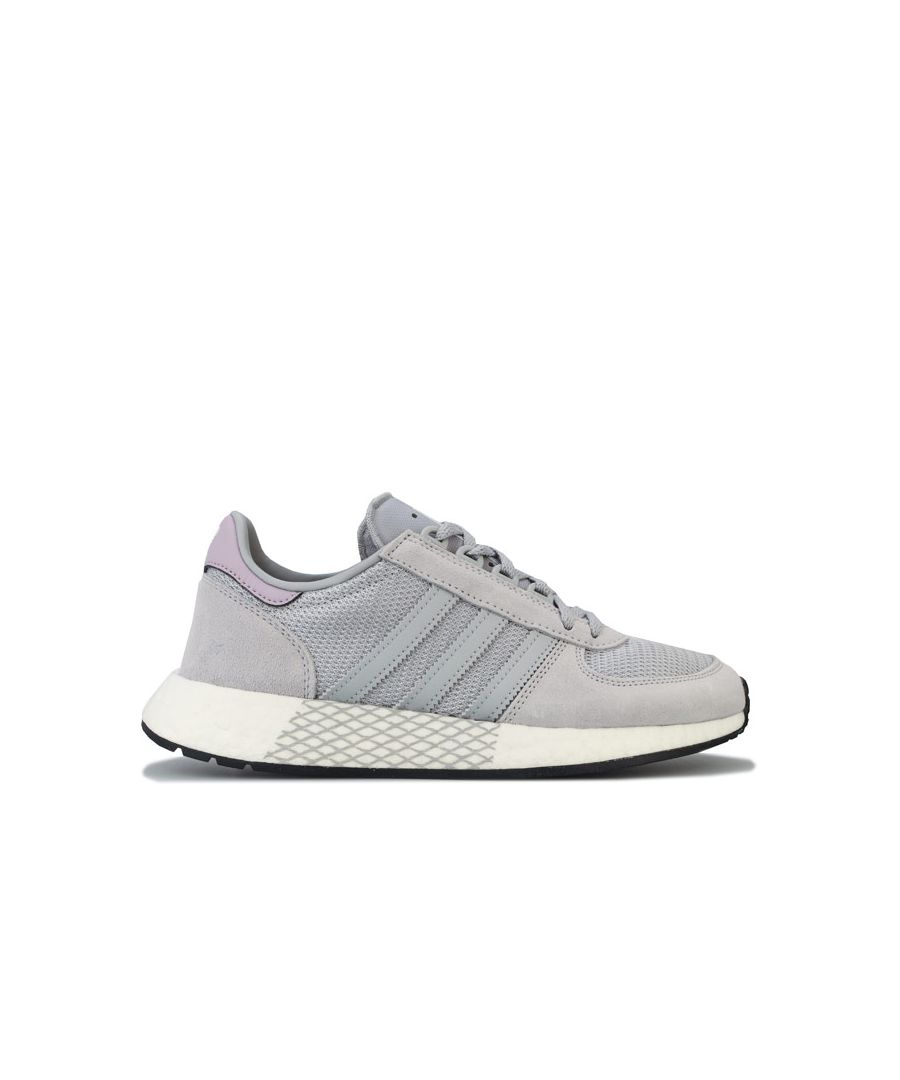 Image for Women's adidas Originals Marathon Tech Trainers in Grey