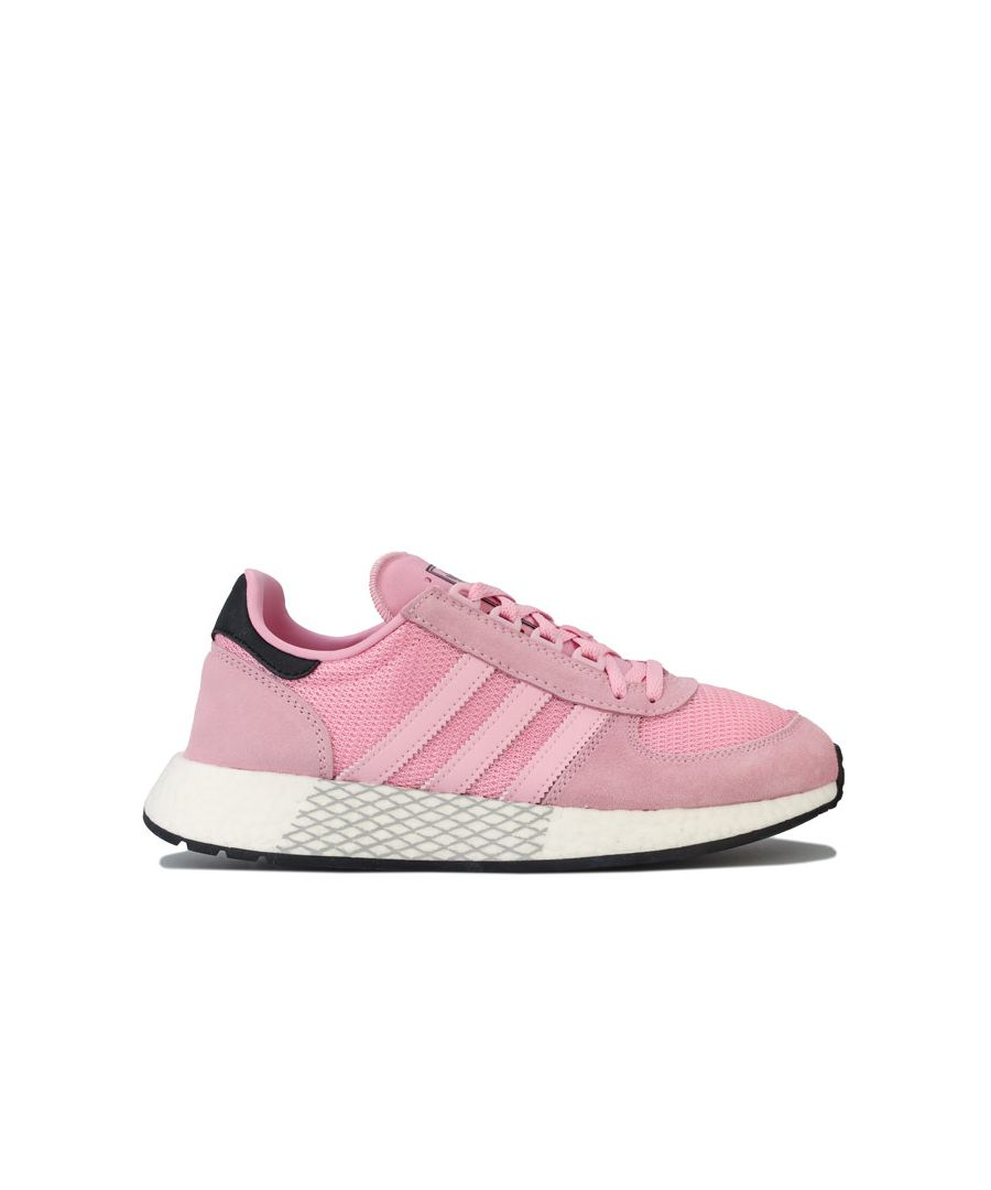 Image for Women's adidas Originals Marathon Tech Trainers in Pink