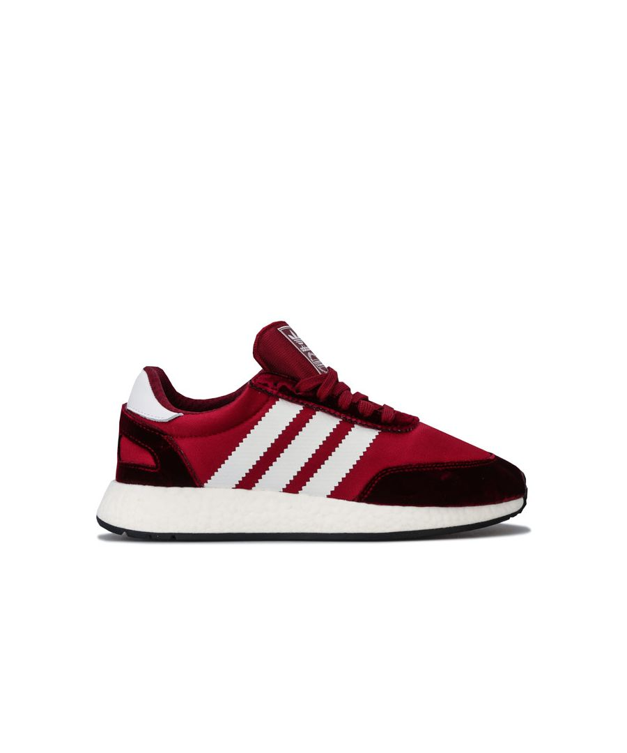Image for Women's adidas Originals I-5923 Trainers in Burgundy