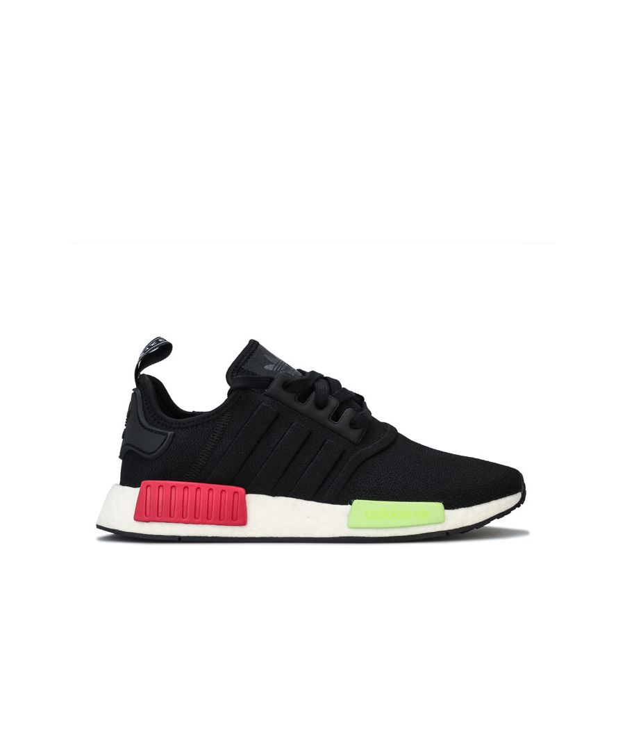 Image for Men's adidas Originals NMD R1 Trainers in Black