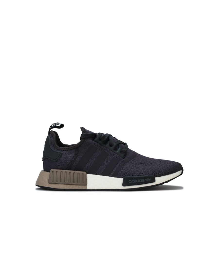 Image for Men's adidas Originals NMD_R1 Trainers in Charcoal