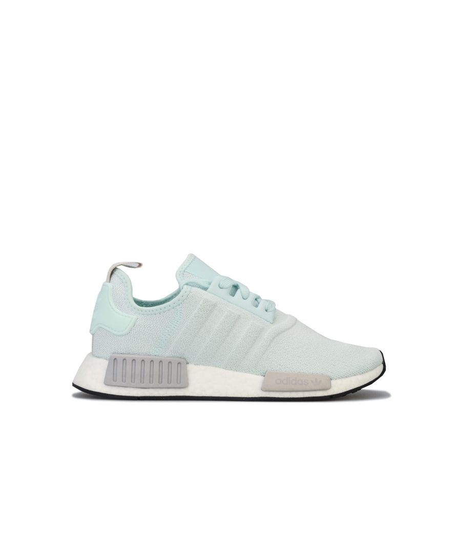 Image for Women's adidas Originals NMD_R1 Trainers in Green White