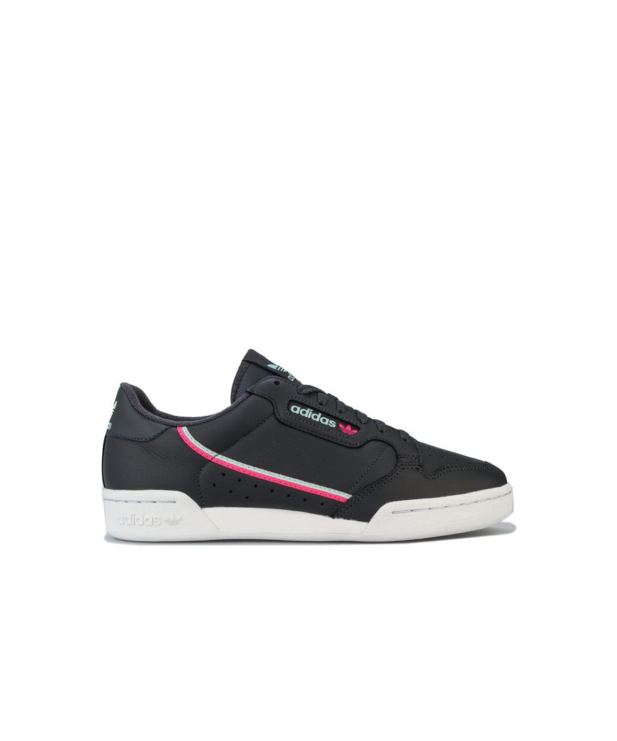 Image for Men's adidas Originals Continental 80 Trainers in Black