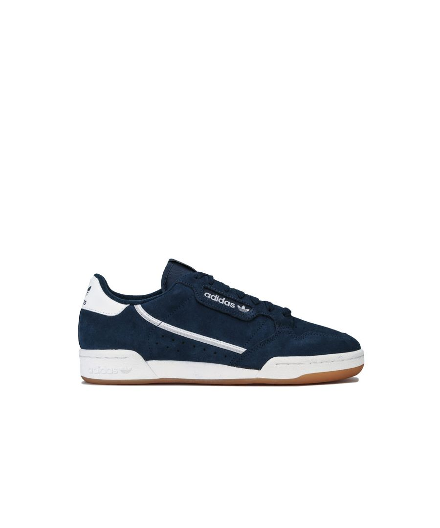 Image for Men's adidas Originals Continental 80 Trainers in Navy