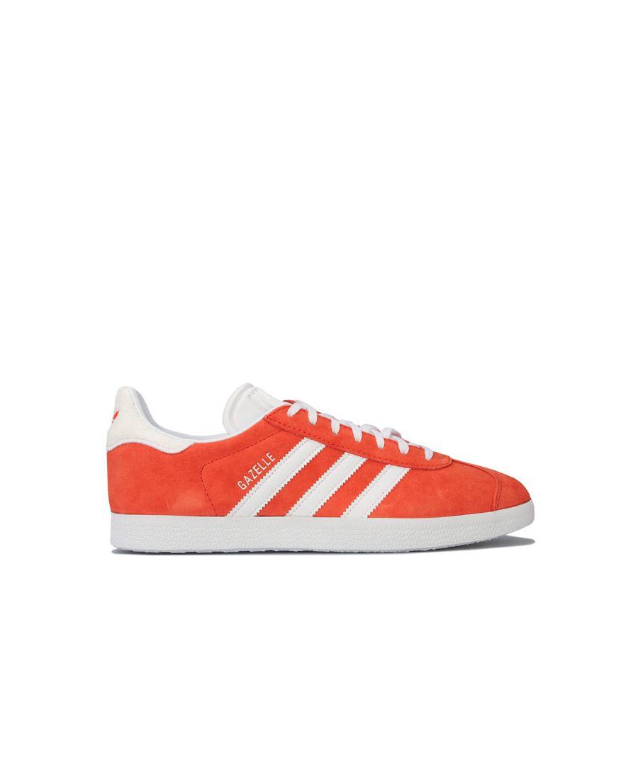 Image for Men's adidas Originals Gazelle Trainers in Orange