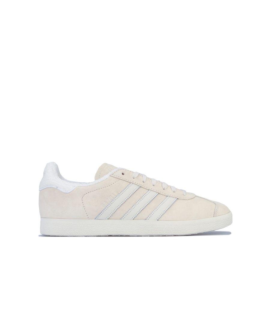 Image for adidas Originals Gazelle Trainers in Ecru