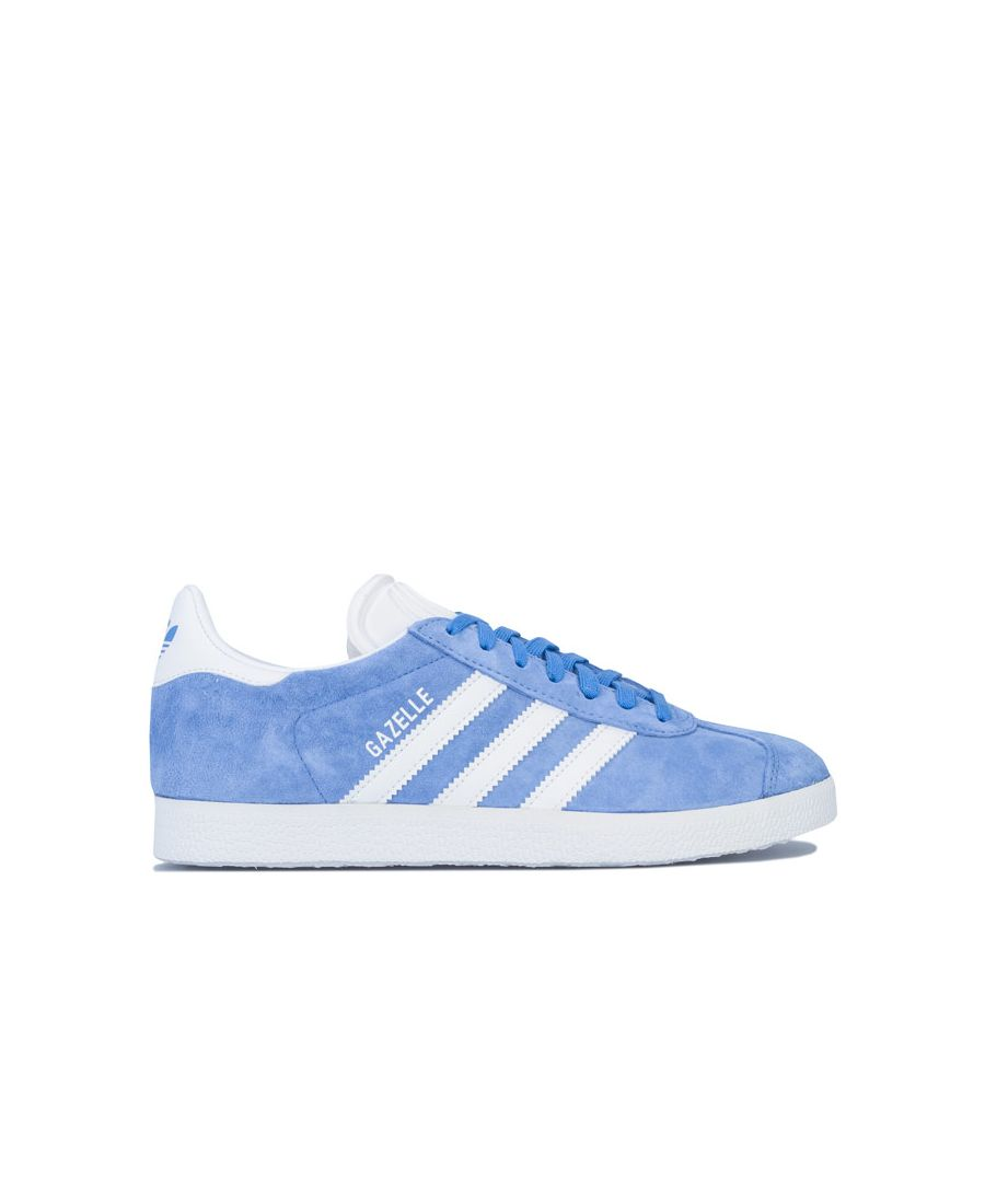 Image for Men's adidas Originals Gazelle Trainers in Blue