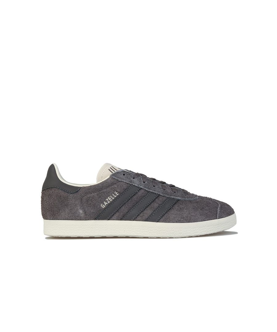 Image for Men's adidas Originals Gazelle Trainers in Grey