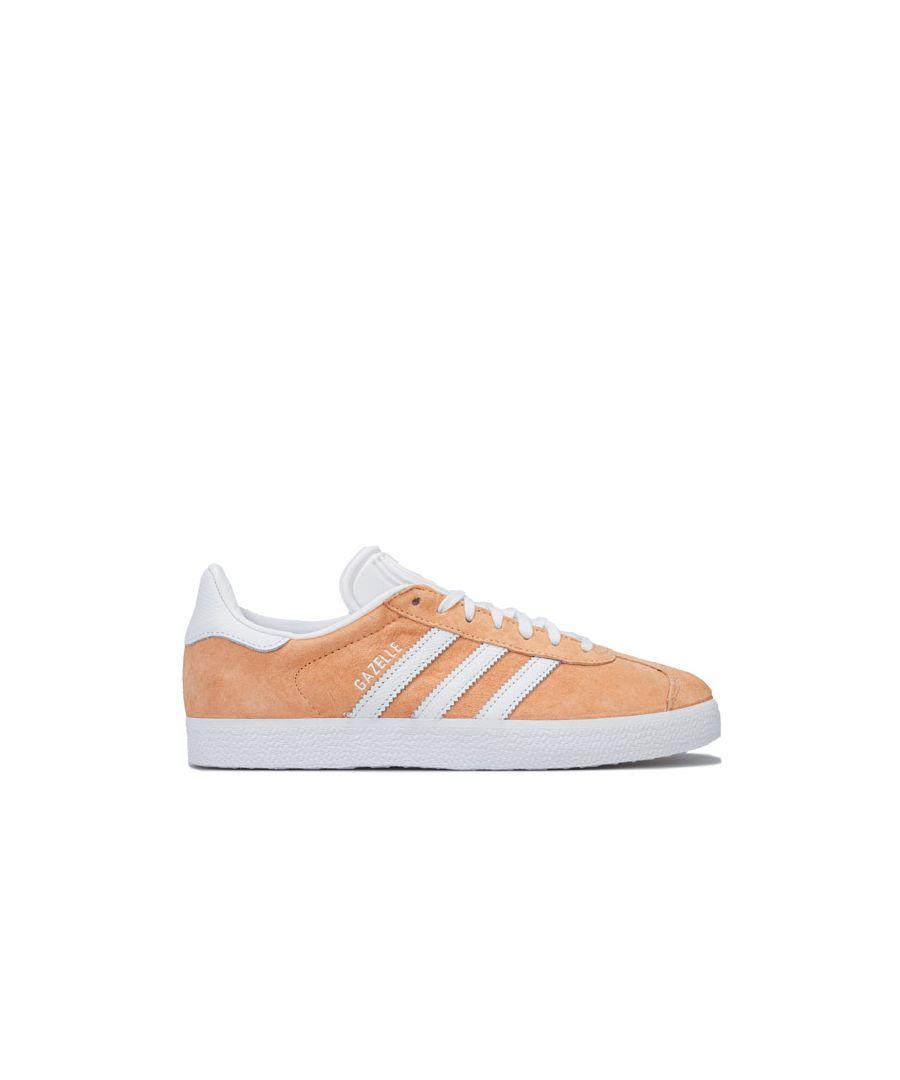 Image for Women's adidas Originals Gazelle Trainers in Orange
