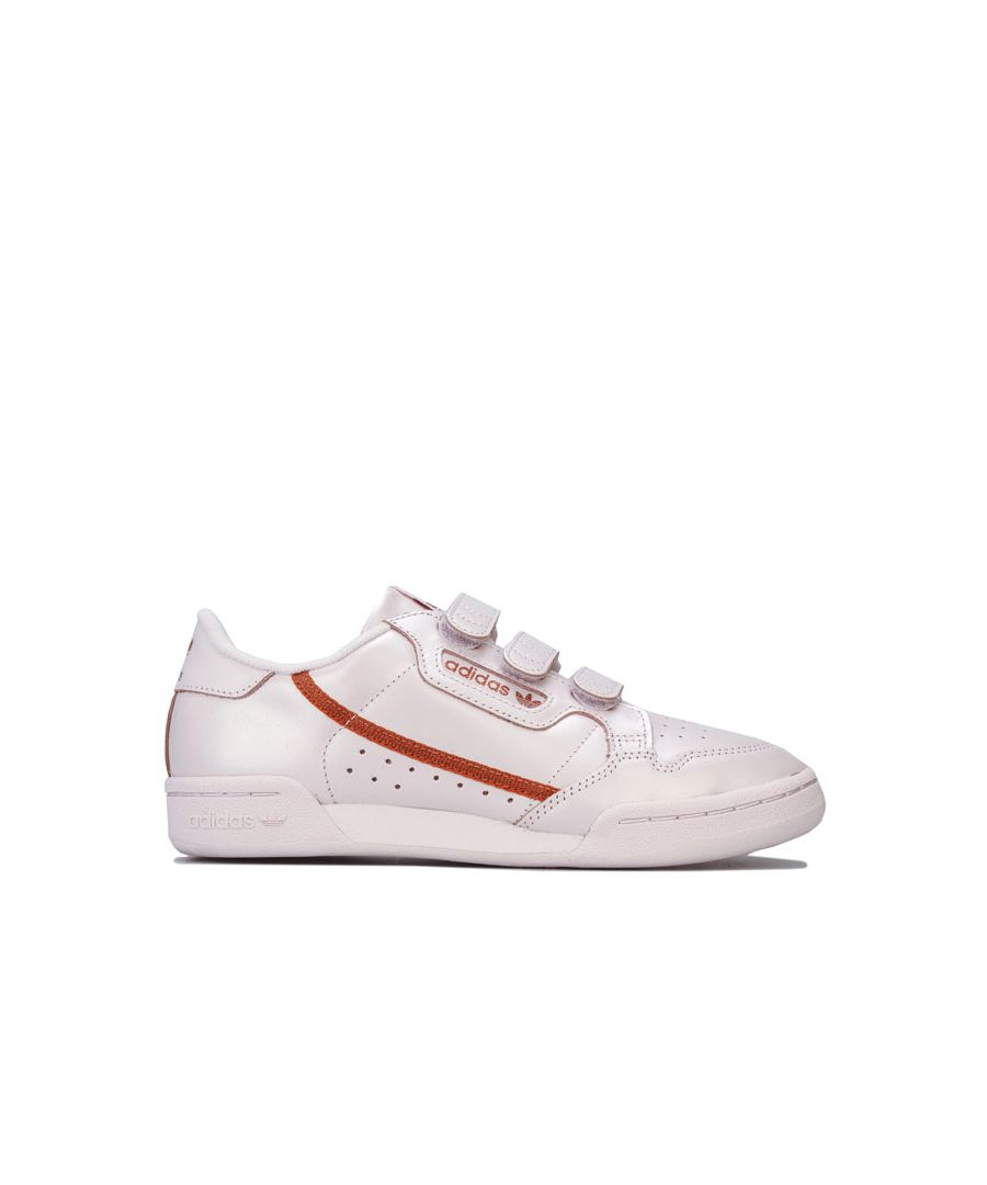 Image for Women's adidas Originals Continental 80 Strap Trainers in Pink