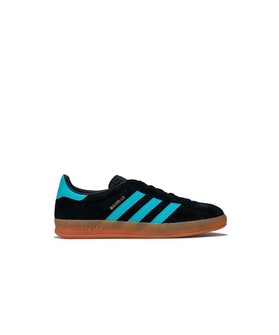 Image for Men's adidas Originals Gazelle Indoor Trainers in Black