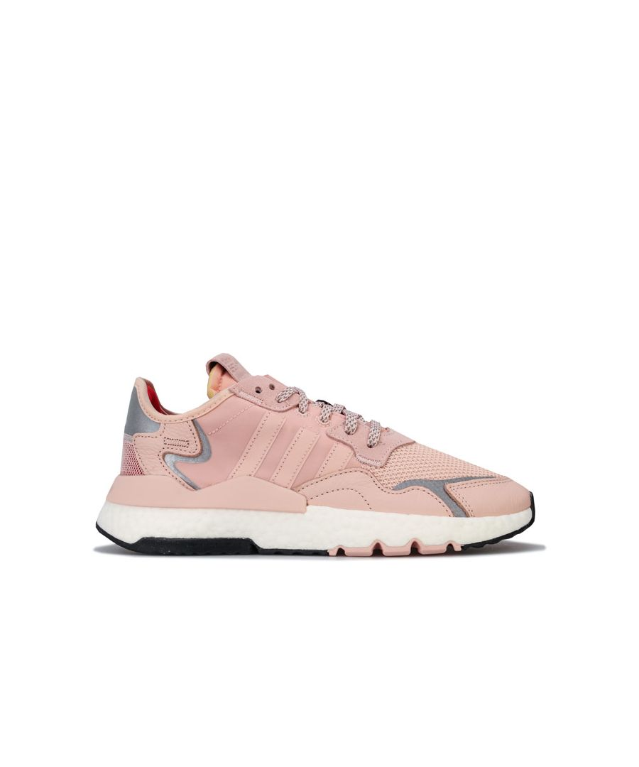 Image for Women's adidas Originals Nite Jogger Trainers in Pink
