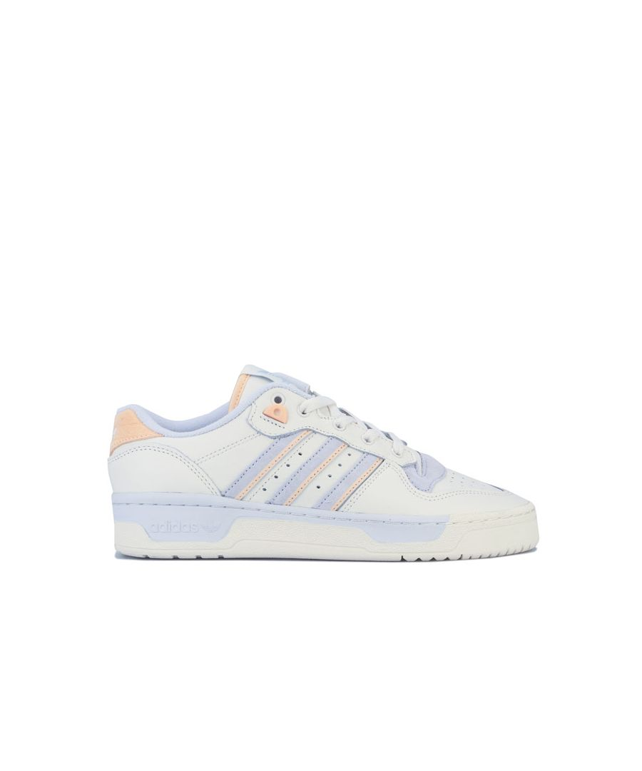Image for Men's adidas Originals Rivalry Low Trainers in White