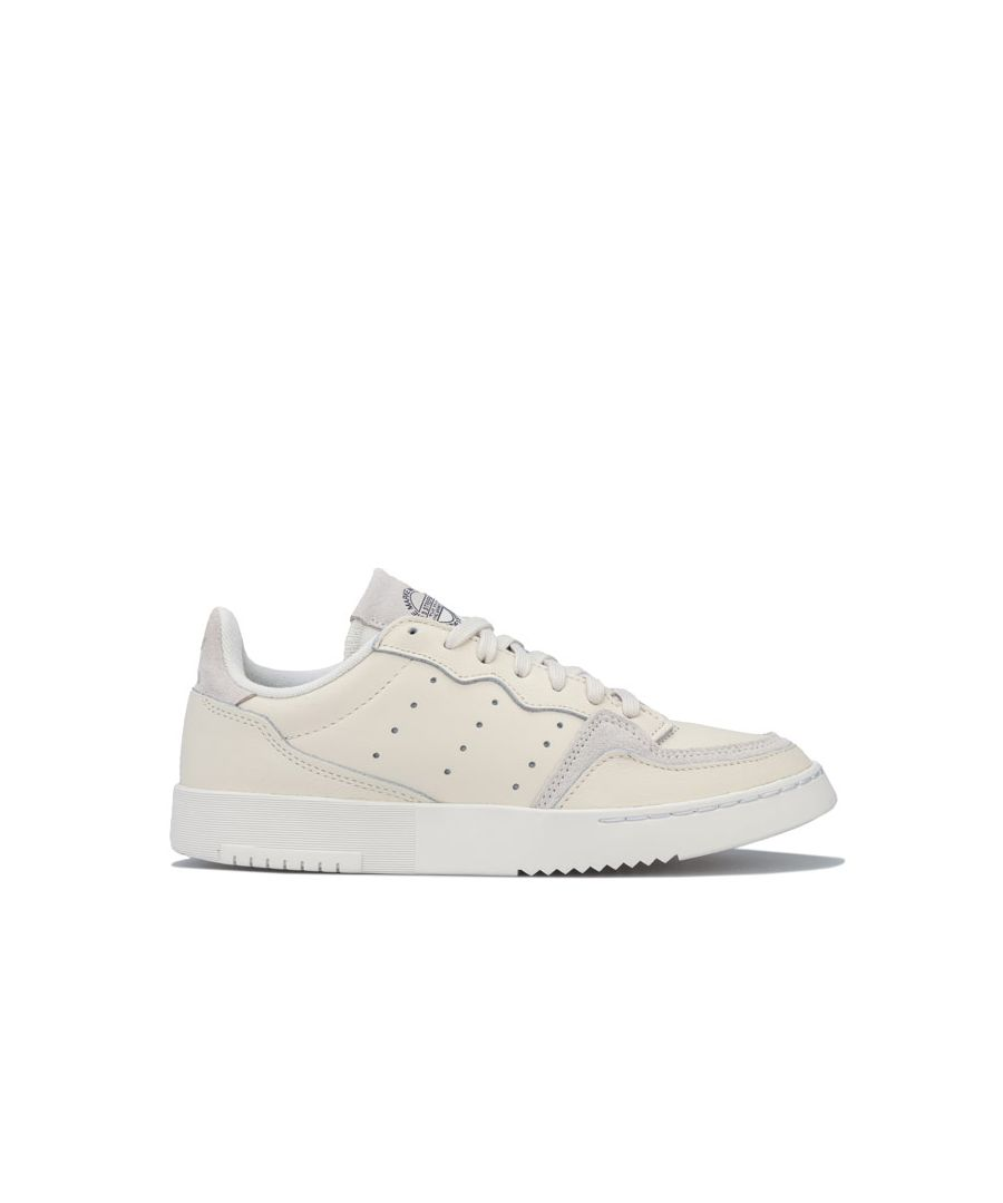 Image for Women's adidas Originals Supercourt Trainers in Off White