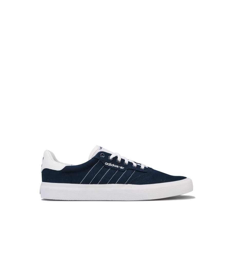 Image for Men's adidas Originals 3MC Trainers in Navy-White