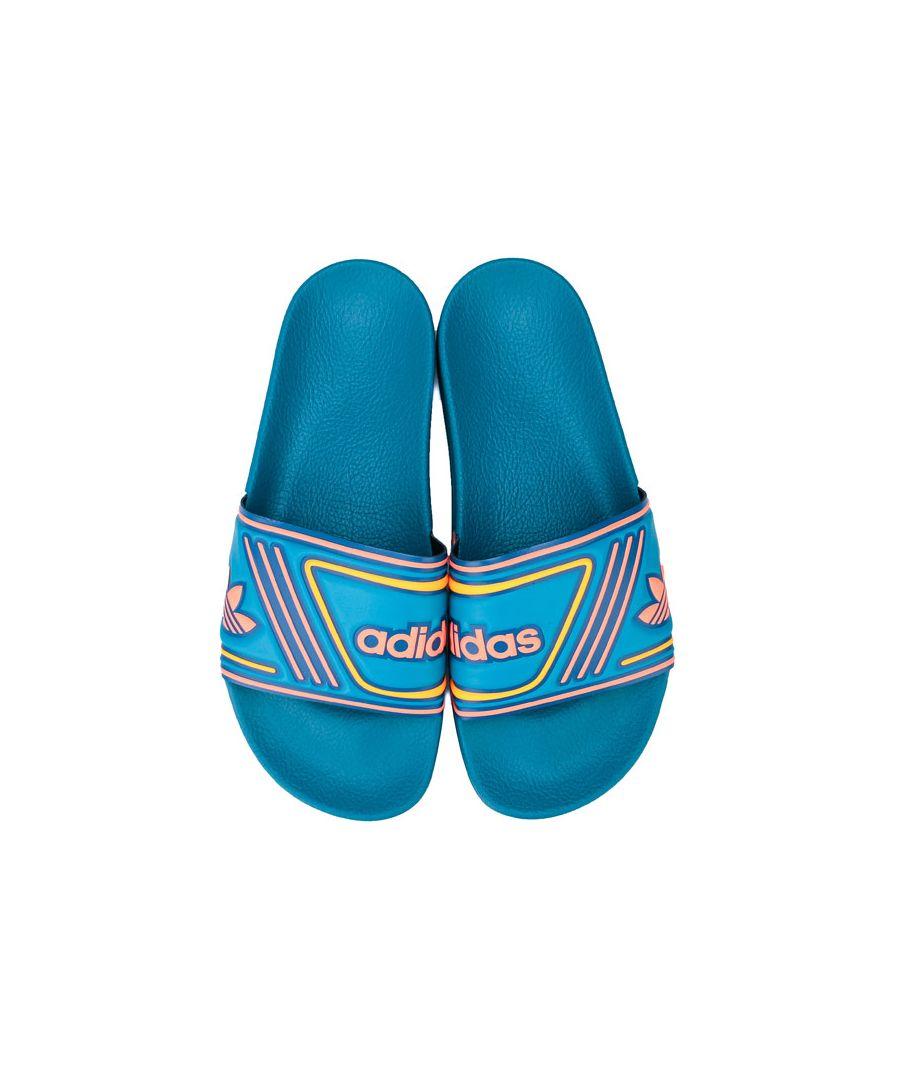 Image for Men's adidas Originals Adilette Slides in Teal