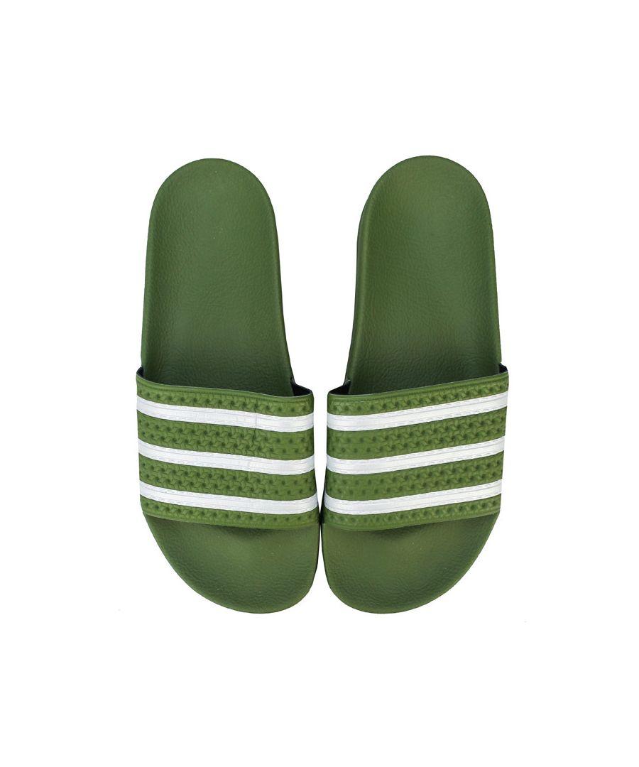 Image for Men's adidas Originals Adilette Slides in Green