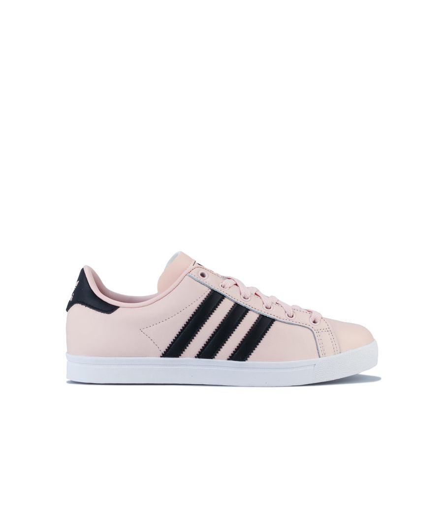 Image for Women's adidas Originals Coast Star Trainers in Pink black