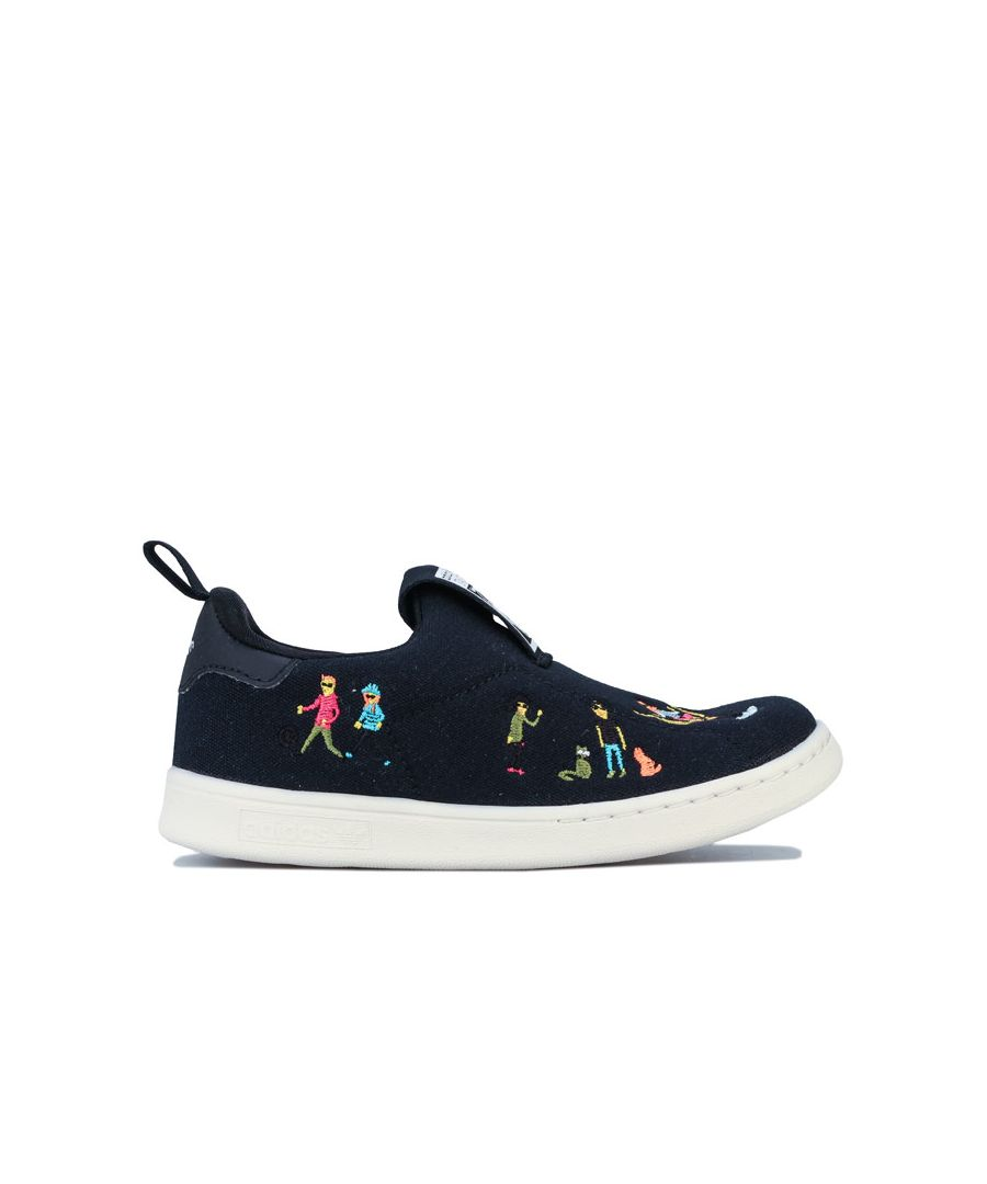 Image for Boy's adidas Originals Infants Stan Smith 360 Trainers in Black
