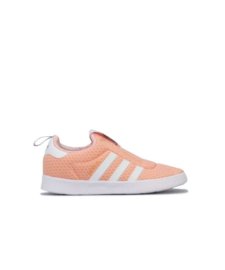 Image for Girl's adidas Originals Infant Gazelle 360 Trainers in Pink